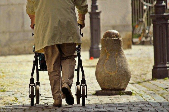 senior, mobility